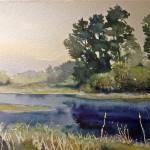 Hazy Morning at the Marsh, by Paul Rickard